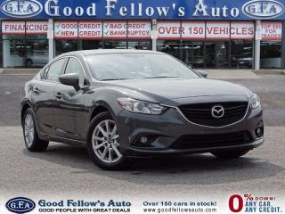Used 2015 Mazda MAZDA6 Leather Seating, Sun Roof, Navigation, Camera for sale in North York, ON