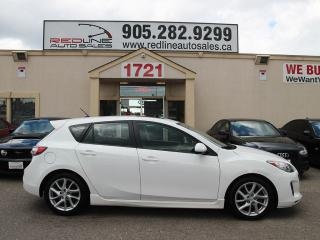 Used 2012 Mazda MAZDA3 Leather, Sunroof, Alloys, WE APPROVE ALL CREDIT for sale in Mississauga, ON