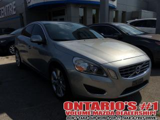 Used 2013 Volvo S60 AWD V6  -TORONTO for sale in North York, ON