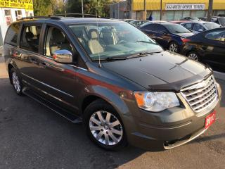 Used 2010 Chrysler Town & Country TOURING/AUTO/LEATHER/DUAL DVD/PWR SLIDING DOORS for sale in Scarborough, ON