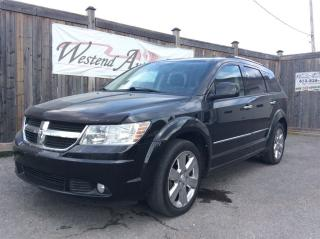 Used 2010 Dodge Journey R/T 7 Passenger , Leather , Awd for sale in Stittsville, ON