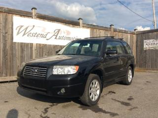 Used 2007 Subaru Forester XS PREMIUM for sale in Stittsville, ON