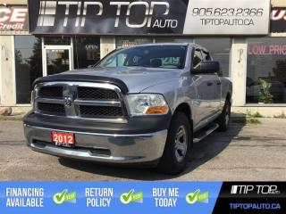 Used 2012 Dodge Ram 1500 ST ** 4X4, 4.7L V8, Bluetooth, Trailer Brake Contr for sale in Bowmanville, ON