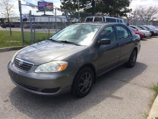 Used 2007 Toyota Corolla AUTO,WELL KEPT,SAFETY+3YEARS WARRANTY INCLUDED for sale in North York, ON