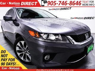 Used 2015 Honda Accord EX-L| NAVI| LEATHER| SUNROOF| for sale in Burlington, ON