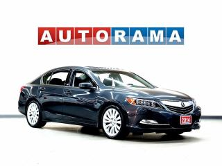 Used 2014 Acura RLX TECH PKG AWD NAVIGATION LEATHER SUNROOF BACK UP CA for sale in North York, ON