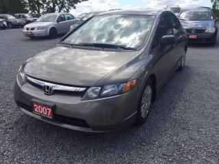 Used 2007 Honda Civic LX for sale in Gormley, ON