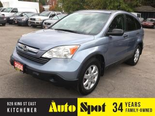 Used 2008 Honda CR-V EX/LOADED!/LOW, LOW KMS/PRICED FOR A QUICK SALE for sale in Kitchener, ON