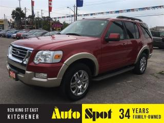 Used 2010 Ford Explorer Eddie Bauer/VEHICLE IS GEM MINT! for sale in Kitchener, ON