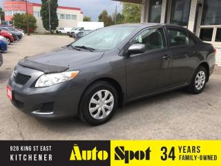 Used 2010 Toyota Corolla CE/PRICED FOR A QUICK SALE ! for sale in Kitchener, ON