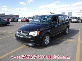 Used 2013 Dodge GRAND CARAVAN SE WAGON 3.6L for sale in Calgary, AB