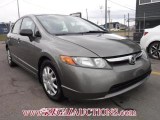 Used 2006 Honda Civic DX 4D Sedan for sale in Calgary, AB