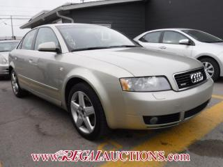 Used 2005 Audi A4  4D SEDAN QTRO 3.0L for sale in Calgary, AB