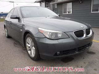 Used 2006 BMW 5 SERIES 550I 4D SEDAN for sale in Calgary, AB