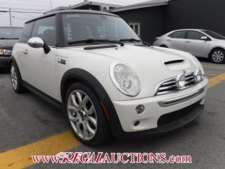 Used 2006 MINI COOPER S 2D HATCHBACK for sale in Calgary, AB