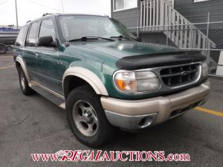 Used 2000 Ford EXPLORER  4D UTILITY 4WD for sale in Calgary, AB