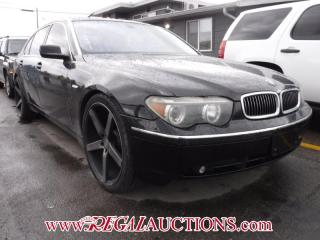 Used 2003 BMW 7 SERIES 745LI 4D SEDAN for sale in Calgary, AB