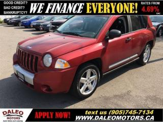 Used 2008 Jeep Compass LIMITED for sale in Hamilton, ON