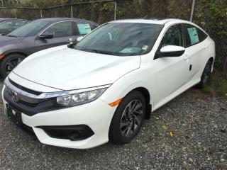 New 2017 Honda Civic EX for sale in Richmond, BC