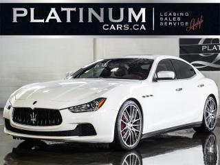 Used 2015 Maserati Ghibli S Q4, AWD, FULLY LOA for sale in North York, ON
