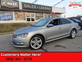 Used 2012 Volkswagen Passat 2.0 TDI Highline  DIESEL, LEATHER, ROOF, NAVIGATION for sale in St Catharines, ON