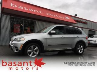 Used 2011 BMW X5 Diesel, Heated Seats, Sunroof, Luxury!! for sale in Surrey, BC