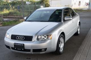 Used 2004 Audi A4 1.8T w/painted bumpers for sale in Langley, BC