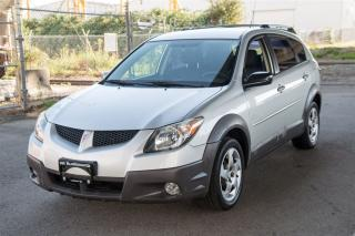 Used 2003 Pontiac Vibe Low KM Langley! for sale in Langley, BC