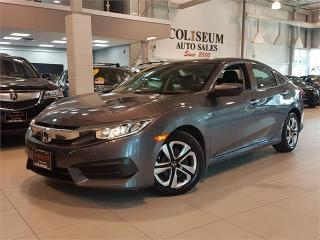 Used 2016 Honda Civic Sedan LX-AUTO-CAMERA-HEATED SEATS-ONLY 64KM for sale in York, ON