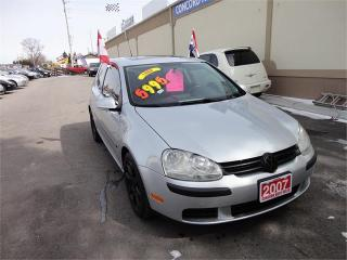 Used 2007 Volkswagen Rabbit for sale in Breslau, ON
