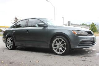 Used 2015 Volkswagen Jetta 1.8 TSI Reverse camera for sale in Brampton, ON
