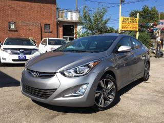 Used 2016 Hyundai Elantra Limited*Navi*Leather*Sunroof&HyundaiWarranty** for sale in York, ON
