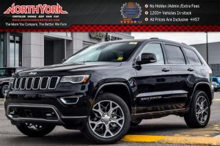 New 2018 Jeep Grand Cherokee New Car Sterling Edition|4x4|JeepSafety,SterlingLuxuryPkgs|Sunroof|Nav| for sale in Thornhill, ON