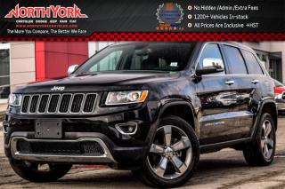 Used 2016 Jeep Grand Cherokee Limited|4x4|Sunroof|R_Start|Heat Frnt.Seats|Parksense for sale in Thornhill, ON