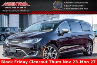 Used 2017 Chrysler Pacifica Limited|Tire&Wheel,Adv.SafetyTec.,UConnectTheater&SoundPkgs for sale in Thornhill, ON
