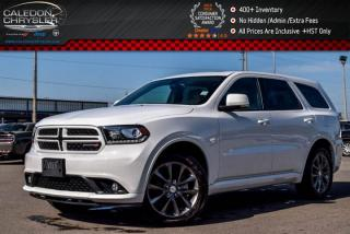 Used 2017 Dodge Durango GT|AWD|Navi|Sunroof|Bluetooth|R-Start|Backup Camera|Keyless Go|20