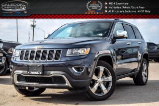 Used 2016 Jeep Grand Cherokee Limited|4x4|Navi|Sunroof|Backup Cam|Bluetooth|R-Start|Leather|20