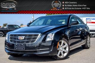 Used 2015 Cadillac ATS Sedan Standard AWD|Sunroof|Backup Cam|Bluetooth|Leather|Heated Front Seats|Keyless Go|17