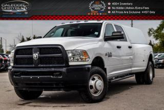 Used 2016 Dodge Ram 3500 ST|Diesel|4x4|Only 4674 KM|Pwr windows|Bed Cab|Sais Steps for sale in Bolton, ON