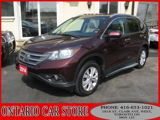 Used 2014 Honda CR-V TOURING AWD NAVIGATION SUNROOF for sale in Toronto, ON