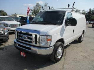 Used 2013 Ford E250 CARGO MOVING XL MODEL 2 PASSENGER 4.6L - V8.. ADVANCE TRAC.. AUX INPUT.. AIR CONDITIONING.. ROOF RACKS.. for sale in Bradford, ON