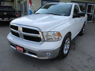 Used 2015 Dodge Ram 1500 WORK READY SLT MODEL 3 PASSENGER 5.7L - V8.. TWO-WHEEL.. REGULAR CAB.. SHORTY.. HEATED SEATS.. CD/AUX/USB INPUT.. ALPINE AUDIO.. for sale in Bradford, ON