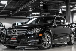 Used 2013 Mercedes-Benz C350 AMG|NAVI|REAR CAM|PANO ROOF|4MATIC|LOADED for sale in North York, ON