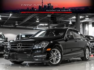 Used 2014 Mercedes-Benz C 300 NAVI REAR CAM PANO ROOF 4MATIC for sale in North York, ON