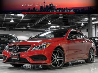 Used 2016 Mercedes-Benz E-Class E400 AMG DISTRONIC DTR+ B.SPOT COOLED SEATS COUPE LOADED for sale in North York, ON
