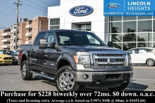 Used 2014 Ford F-150 XLT SUPERCREW  5.5' BED 4WD - XLT - XTR PKG - BLUETOOTH - REVERSE SENSING - REAR CAMERA for sale in Ottawa, ON