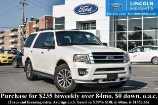 Used 2015 Ford Expedition XLT 4WD - LEATHER - BLUETOOTH - REMOTE START for sale in Ottawa, ON