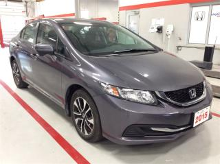 Used 2015 Honda Civic Sedan EX..1 owner..accident free.. for sale in Milton, ON