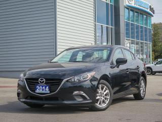 Used 2014 Mazda MAZDA3 GS/ 4 NEW TIRES/ NEW FRONT BRAKES/ HEATED SEATS/ BALANCE OF 7 YEARS MAZDA WARRANTY/ 0% FINANCE!!! for sale in Scarborough, ON
