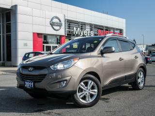 Used 2011 Hyundai Tucson AWD, LEATHER, HEATED SEATS for sale in Orleans, ON